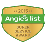 2015 Angie's List Super Service Award Winner Badge