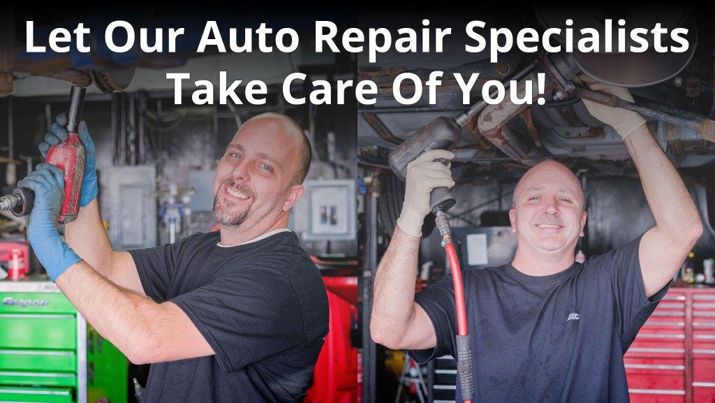 C&J-Automotie-Auto-Repair-Specialists Let Our Auto Repair Specialists Take Care Of You!