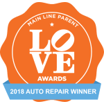 Main Line Parent LOVE Awards 2018 Auto Repair Winner