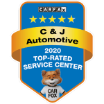 C&J Automotive Is A 2020 Carfax Top Rated Service Center